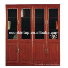 Prateleira / prateleira de madeira ajustável unidades de prateleiras de venda a quente MDF + acabamento de papel (T8084)