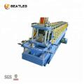 Máquina formadora de rollos de plataforma de metal