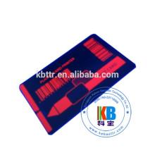 Imprimante de cartes d'identité compatible P330i ruban jaune UV rouge d'encre thermique UV de 1000 images UV invisible rouge