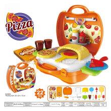 Boutique Playhouse Plastikspielzeug für eine Pizza machen