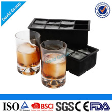 Private Labeling Food Grade Silicone Ice Cube Tray