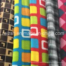 Printed Polar Fleece Fabric for Making Warm Clothes