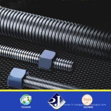 Tige filetée en acier inoxydable haute résistance
