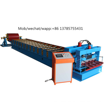 Rolling Steel Color Hot Glazed Roll Forming Machinery