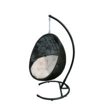 Cadeira de balanço ao ar livre do Rattan moderna rede
