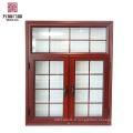 Fenêtres en aluminium anti-effraction avec verre trempé de sécurité