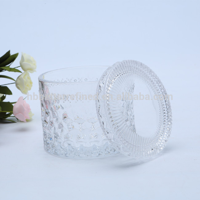 Br 1817luxury Scented Glass Candle Jar Manufacturer