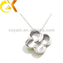 express alibaba Stainless Steel Jewelry pendant, silver flower pendant