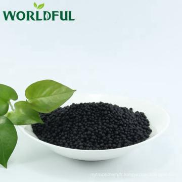 Engrais composé bio micro granulaire noir NPK 13-1-2