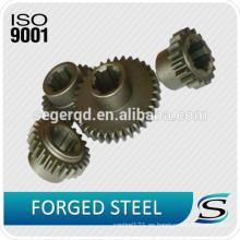 Engranaje de acero de precisión de forja personalizado