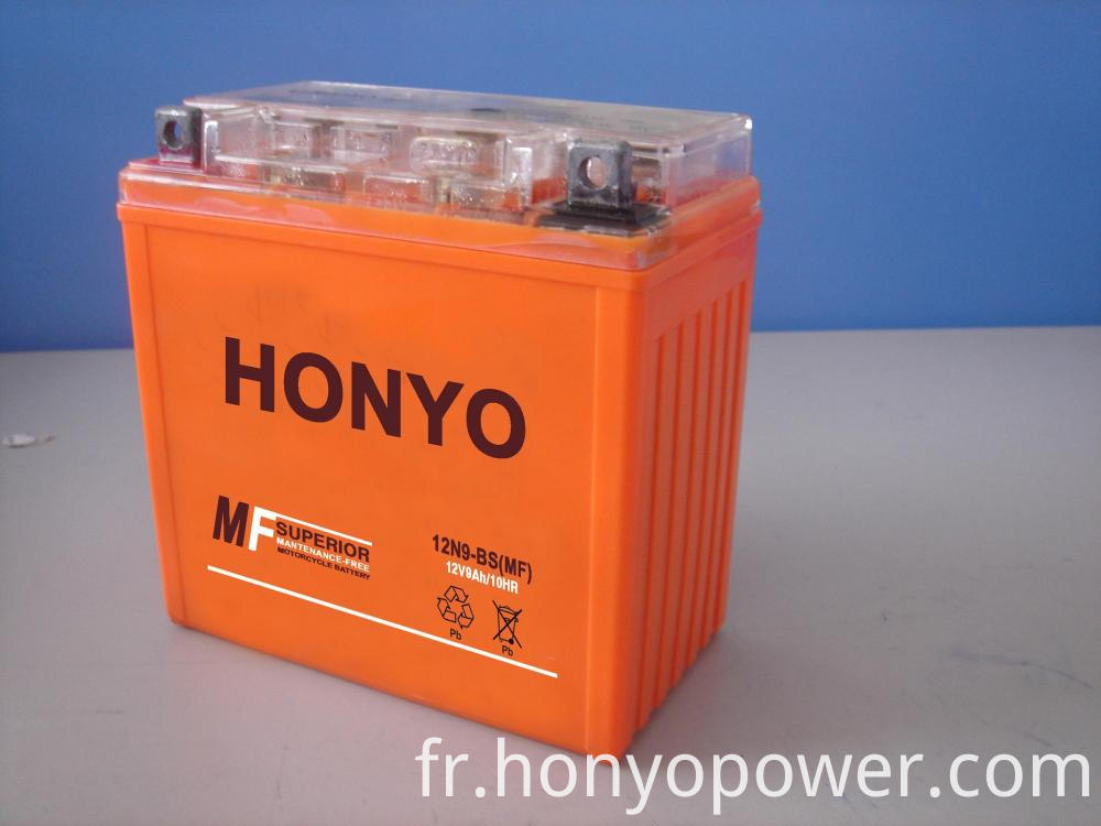 12N9-BS Sealed Motorcycle Batteries