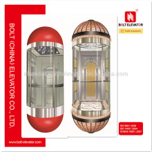 2015 China Ventana vendedora caliente redondo del elevador