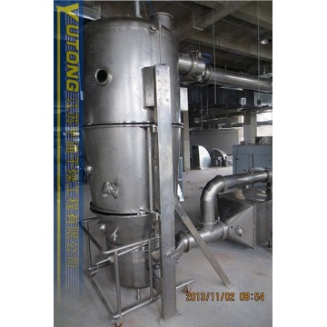 0.3-0.6MPA steam pressure Milk powder Fluidized Granulator
