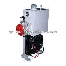 Refrigerador / radiador del aceite del ventilador de la profesión de la CC 12v / 24v con el ventilador