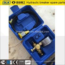 Kit de carga de acumuladores de roca hidráulica Soosan