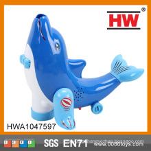 Engraçado plástico Universal Blue Dolphin Toy