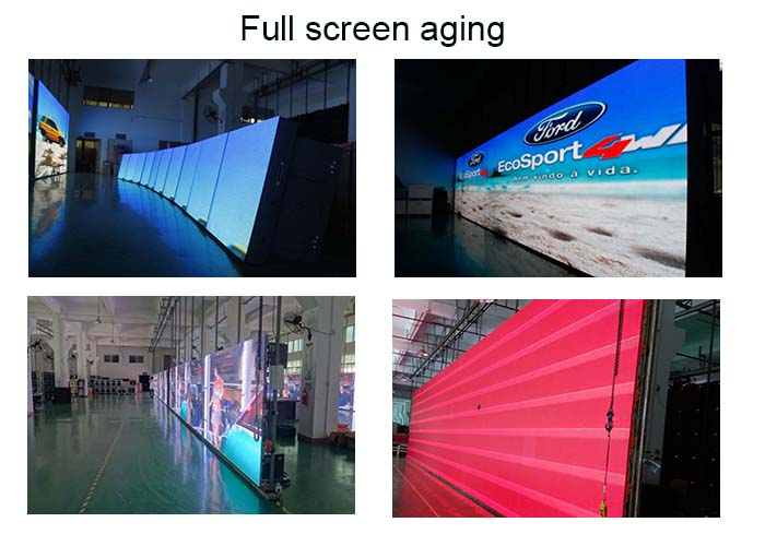 energy saving high slim easy installation led display