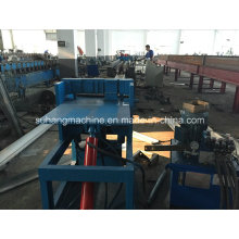 Single Chain Transmission 7.5kw Door Frame Roll Forming Machine