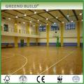 Plancher de basket-ball en érable d'intérieur