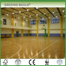 Крытый баскетбол Клен деревянный настил