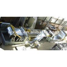 Metal/aço folha simples máquina linha de corte com desbobinador e recoiler