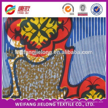 ready goods african prints cotton wax fabric for women dress material