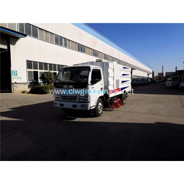 Dongfeng multi-function road washing sweeper truck