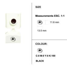 Melhor vender nova câmera de estilo branco