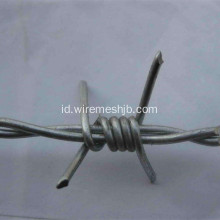 Galvanized Barbed Wire Double Strand Reverse Twist