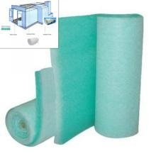 Glasfaser-Farbstoppfiltermedien