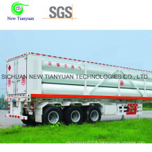 24.5m3 Capacity Container Semi-Trailer with 10 Tubes