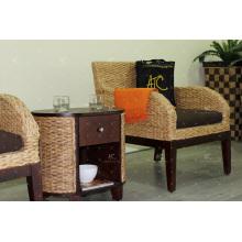 2017 уникальные продукты, водяной гиацинт диван установленный для помещений Мебель для гостиной
