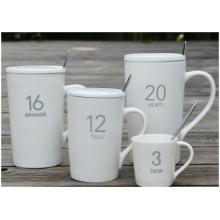 Tasses mates promotionnelles, tasses en céramique de verre de Digital. Personnalisation de tasse de publicité