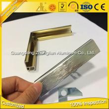 Fabricantes de Alumínio 6463 Moldura de Alumínio para Fotos