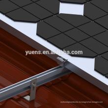 Paneles solares duraderos para estructura de montaje de PV doméstica