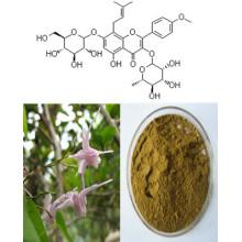 Icariinas 5%, 10%, 20%; Icariin 10%, 20%, 50% de extrato de erva daninha Horny Goat