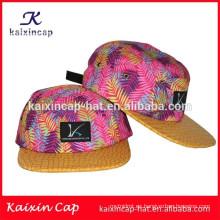 2016 diseño personalizado de alta calidad patrón de sombreros de las mujeres