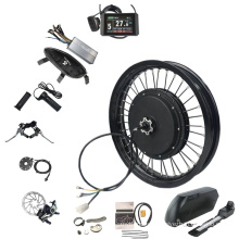 CE Approved QS 212 48V-72V Hub Motor 1200W Electric Motorcycle Conversion Kits