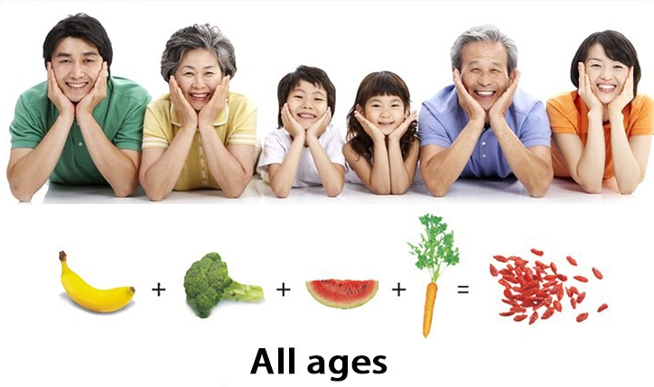 all age can eat GOJI BERRY
