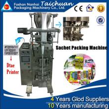 Vffs Zuckerverpackungsmaschine TCLB-C60K Messbecher 99% Genauigkeit Rückversiegelung