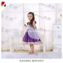 popular girls purple party fashion tutu dress