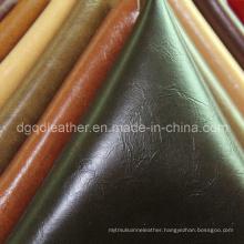 Top Sell Furniture Semi-PU Leather (QDL-FS043)