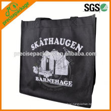 Recyclable pp non woven carrying bag with One color printing