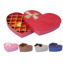 10-30 Frames Chocolate Paper Box, Heart-Shaped Boxes Chocolate Box