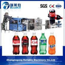 Línea completa de llenado de bebidas gaseosas carbonatadas