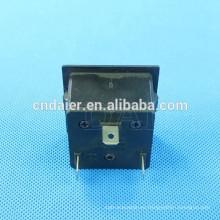 KET-501 interruptores y zócalo UK color negro