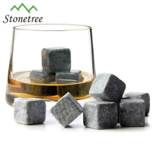Accesorios para bar Reciclable Lava Stone Whisky Ice Ice Cube Stones / Beer Chiller Cube / Wine Cooler Stone