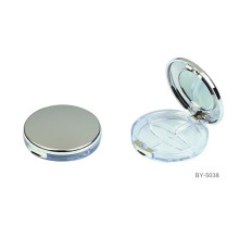 Exquisite Flat Compact Powder Container With Mirror