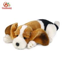 Yk ICTI Aprovado Fábrica De Brinquedos De Pelúcia Macio Animated Animal Toy Dog