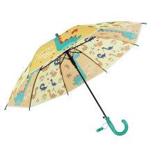 Cute Children Gift Umbrella with Poe Fabric/Straight Auto Open Mini Umbrella